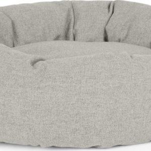 Kysler Large Round Pet Bed, Grey