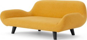 Moby Pet Sofa, Mustard, S/M