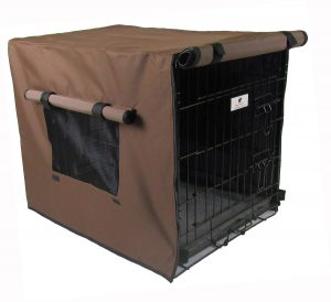 Brown Waterproof Dog Crate Covers