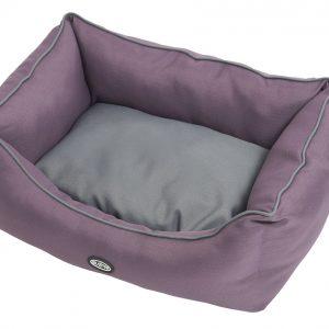 Buster Sofa Beds Black Plum/Steel Grey