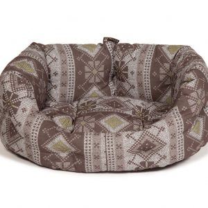 Fairisle Bracken Deluxe Slumber Bed