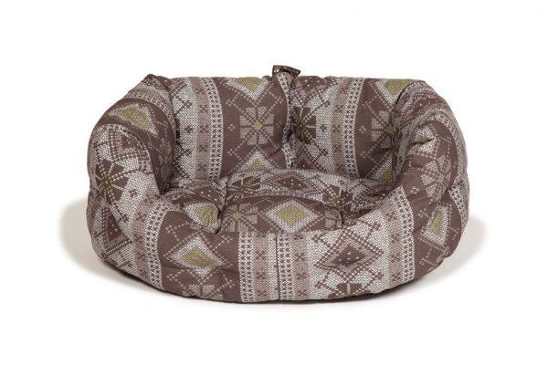 Fairisle Bracken Deluxe Slumber Bed