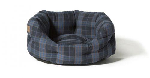 Lumberjack Navy/Grey Deluxe Slumber Bed