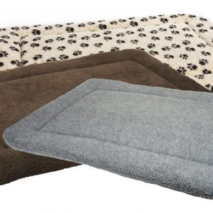 Sherpa Fleece Dog Crate Cushion Pads