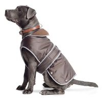 Ancol Chocolate Stormguard Dog Coat