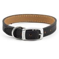 Ancol Heritage Flat Leather Dog Collar