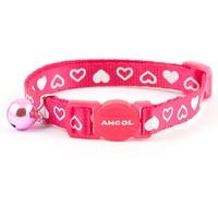 Ancol Silky Nylon Heart Cat Collar