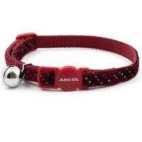 Ancol Velvet Sparkle Safety Cat Collar