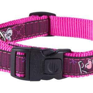 Fancy Dress Collar - Pink Love