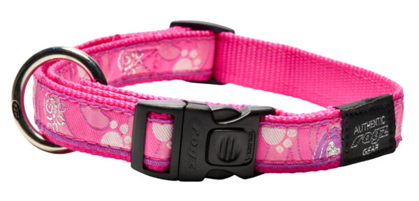 Fancy Dress Collar - Pink Paw