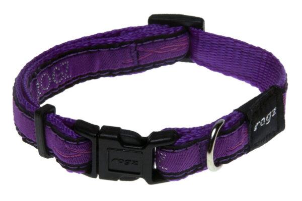 Fancy Dress Collar - Purple Chrome