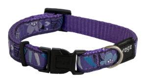 Fancy Dress Collar - Purple Forest