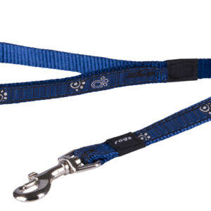 Fancy Dress Lead - Navy Paw
