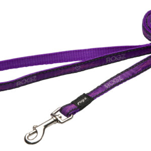 Fancy Dress Lead - Purple Chrome