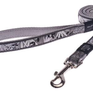 Fancy Dress Lead - Silver Gecko