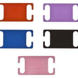 Slide on Collar Pet Tags Medium
