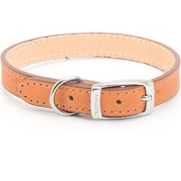 Ancol Heritage Flat Leather Dog Collar