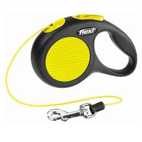 Flexi New NEON Retractable Cord Dog Lead
