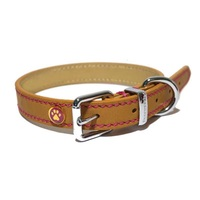 Rosewood Luxury Leather Collar