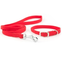 Ancol Small Bite Softweave Collar & Lead Set