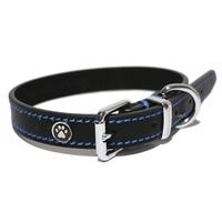 Rosewood Luxury Leather Collar