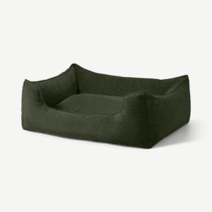 Kysler Pet Bed, Extra Large, Sage Green Cord