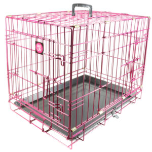 Pink Training Crate